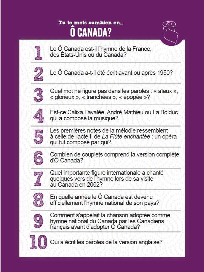 O Canada Q