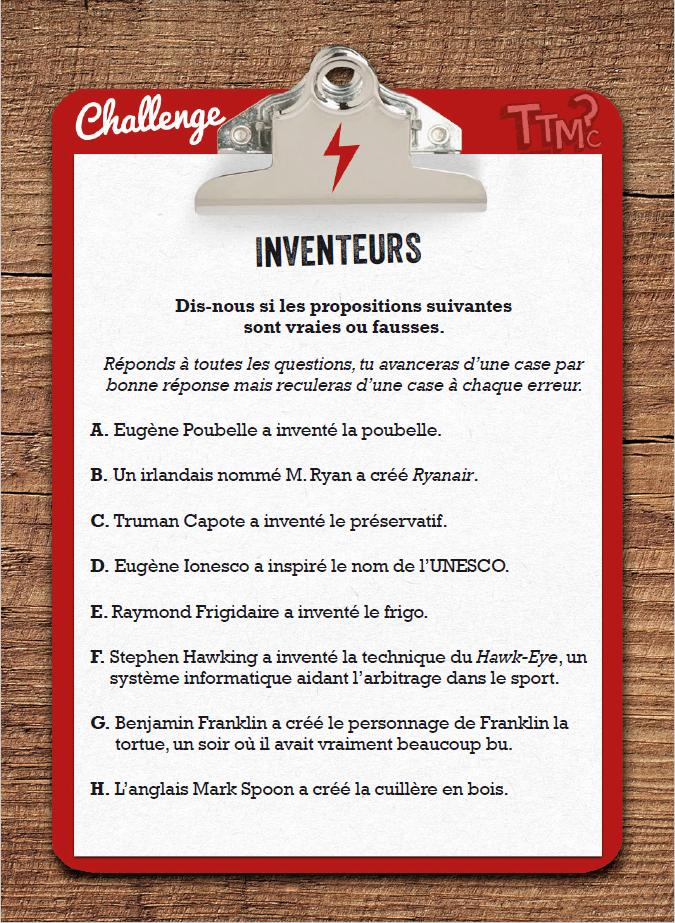 Challenge Inventeurs
